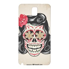 Woman Sugar Skull Samsung Galaxy Note 3 N9005 Hardshell Back Case
