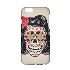 Woman Sugar Skull Apple iPhone 6/6S Hardshell Case