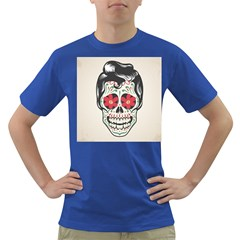 Man Sugar Skull Dark T-Shirt