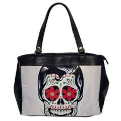 Man Sugar Skull Office Handbags