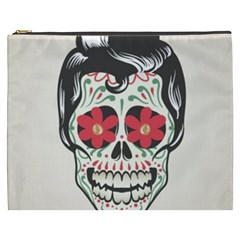 Man Sugar Skull Cosmetic Bag (XXXL)