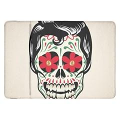 Man Sugar Skull Samsung Galaxy Tab 8.9  P7300 Flip Case