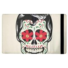 Man Sugar Skull Apple Ipad Pro 12 9   Flip Case