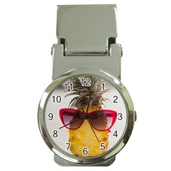 Pineapple With Sunglasses Money Clip Watches