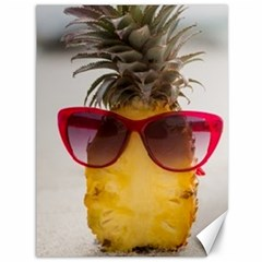 Pineapple With Sunglasses Canvas 36  x 48