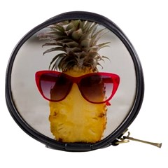 Pineapple With Sunglasses Mini Makeup Bags