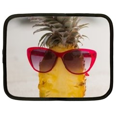 Pineapple With Sunglasses Netbook Case (XXL)