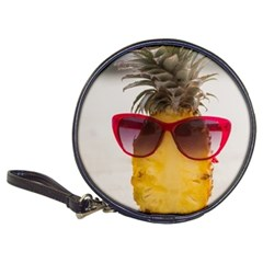 Pineapple With Sunglasses Classic 20-CD Wallets