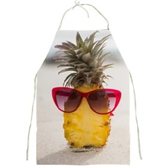 Pineapple With Sunglasses Full Print Aprons