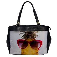Pineapple With Sunglasses Office Handbags
