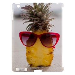 Pineapple With Sunglasses Apple iPad 3/4 Hardshell Case (Compatible with Smart Cover)