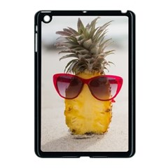 Pineapple With Sunglasses Apple iPad Mini Case (Black)