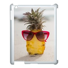 Pineapple With Sunglasses Apple iPad 3/4 Case (White)