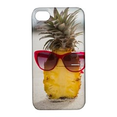Pineapple With Sunglasses Apple iPhone 4/4S Hardshell Case with Stand