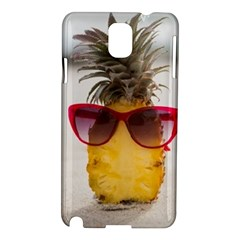 Pineapple With Sunglasses Samsung Galaxy Note 3 N9005 Hardshell Case