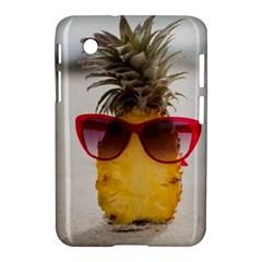 Pineapple With Sunglasses Samsung Galaxy Tab 2 (7 ) P3100 Hardshell Case