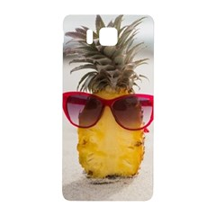 Pineapple With Sunglasses Samsung Galaxy Alpha Hardshell Back Case