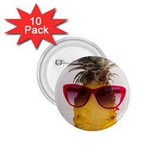 Pineapple With Sunglasses 1.75  Buttons (10 pack)