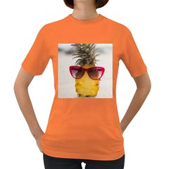 Pineapple With Sunglasses Women s Dark T-Shirt