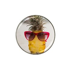 Pineapple With Sunglasses Hat Clip Ball Marker