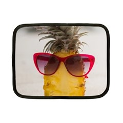 Pineapple With Sunglasses Netbook Case (Small)