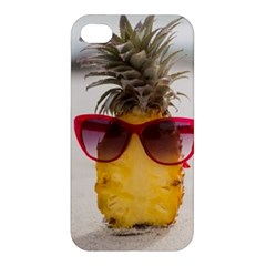 Pineapple With Sunglasses Apple iPhone 4/4S Premium Hardshell Case
