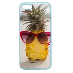 Pineapple With Sunglasses Apple Seamless iPhone 5 Case (Color)