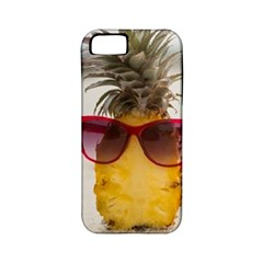 Pineapple With Sunglasses Apple iPhone 5 Classic Hardshell Case (PC+Silicone)