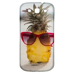 Pineapple With Sunglasses Samsung Galaxy S3 S III Classic Hardshell Back Case
