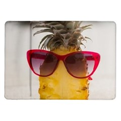 Pineapple With Sunglasses Samsung Galaxy Tab 10 1  P7500 Flip Case