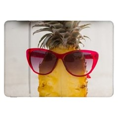 Pineapple With Sunglasses Samsung Galaxy Tab 8.9  P7300 Flip Case