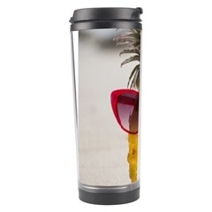 Pineapple With Sunglasses Travel Tumbler