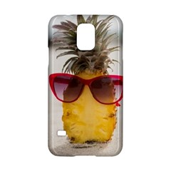 Pineapple With Sunglasses Samsung Galaxy S5 Hardshell Case