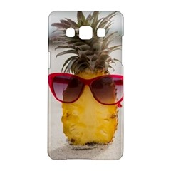 Pineapple With Sunglasses Samsung Galaxy A5 Hardshell Case