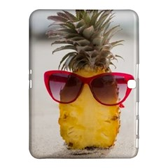 Pineapple With Sunglasses Samsung Galaxy Tab 4 (10.1 ) Hardshell Case