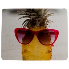 Pineapple With Sunglasses Jigsaw Puzzle Photo Stand (Rectangular)