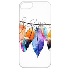 Watercolor Feathers Apple iPhone 5 Classic Hardshell Case