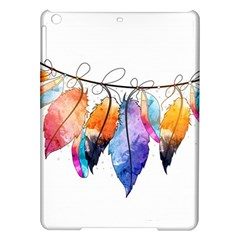 Watercolor Feathers Ipad Air Hardshell Cases