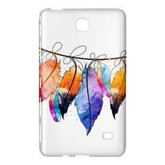 Watercolor Feathers Samsung Galaxy Tab 4 (7 ) Hardshell Case