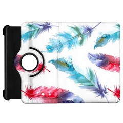 Watercolor Feather Background Kindle Fire HD 7