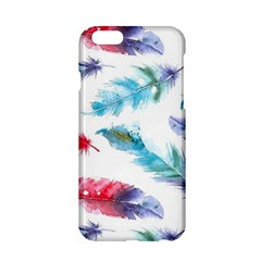 Watercolor Feather Background Apple iPhone 6/6S Hardshell Case