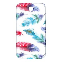 Watercolor Feather Background Samsung Galaxy Mega I9200 Hardshell Back Case