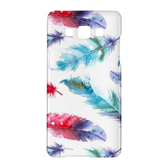 Watercolor Feather Background Samsung Galaxy A5 Hardshell Case