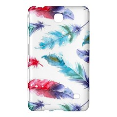 Watercolor Feather Background Samsung Galaxy Tab 4 (8 ) Hardshell Case