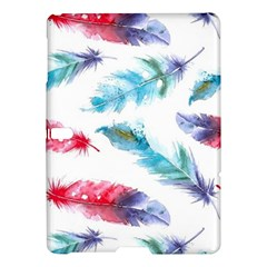 Watercolor Feather Background Samsung Galaxy Tab S (10.5 ) Hardshell Case