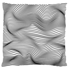 Lines N  Lines Standard Flano Cushion Case (One Side)
