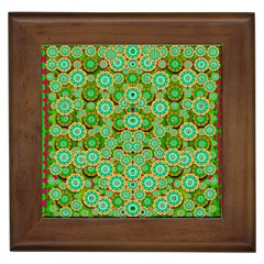 Flowers In Mind In Happy Soft Summer Time Framed Tiles