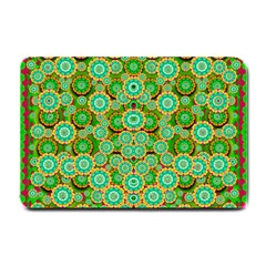 Flowers In Mind In Happy Soft Summer Time Small Doormat