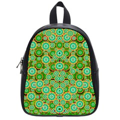 Flowers In Mind In Happy Soft Summer Time School Bags (Small)