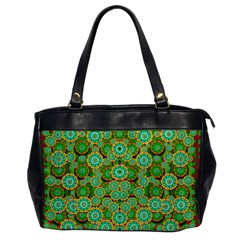 Flowers In Mind In Happy Soft Summer Time Office Handbags